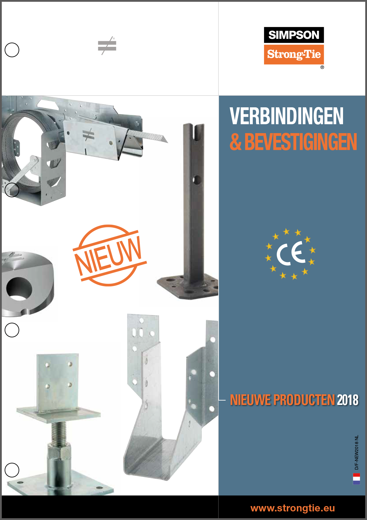 Catalogus Simpson StrongTie houtverbinders